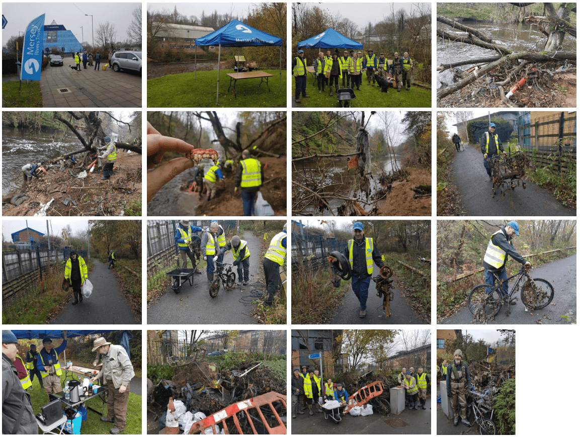 Mersey clean up collage min
